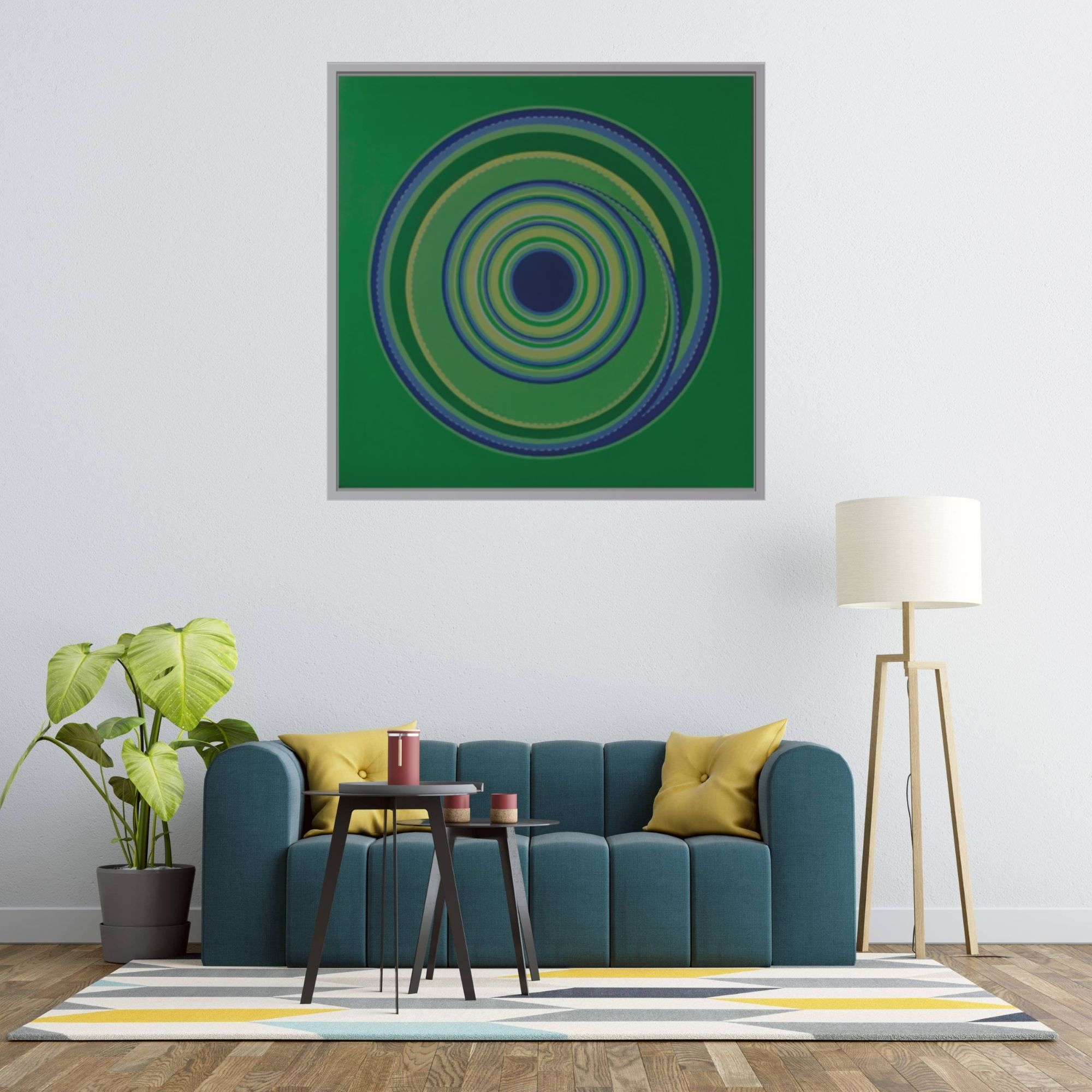 Circle Of Life (Vol 24)_Acrylic on Canvas_24x24 inches