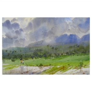 Monsoon Mood (Vol 2)_Watercolor on Paper_21x14 (Inch.)