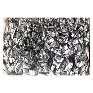 Rangmanch_Pen and Ink on Paper_8x12 (Inch)