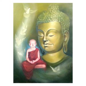 Buddha Paintings - Contemporary Art For Sale