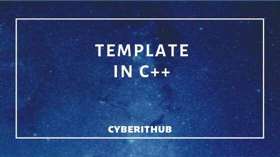 template in C++