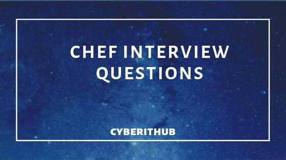 31 Best Chef Interview Questions and Answers 1