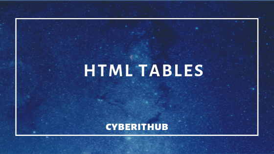 Learn HTML Tables(v5) with Best Examples 1