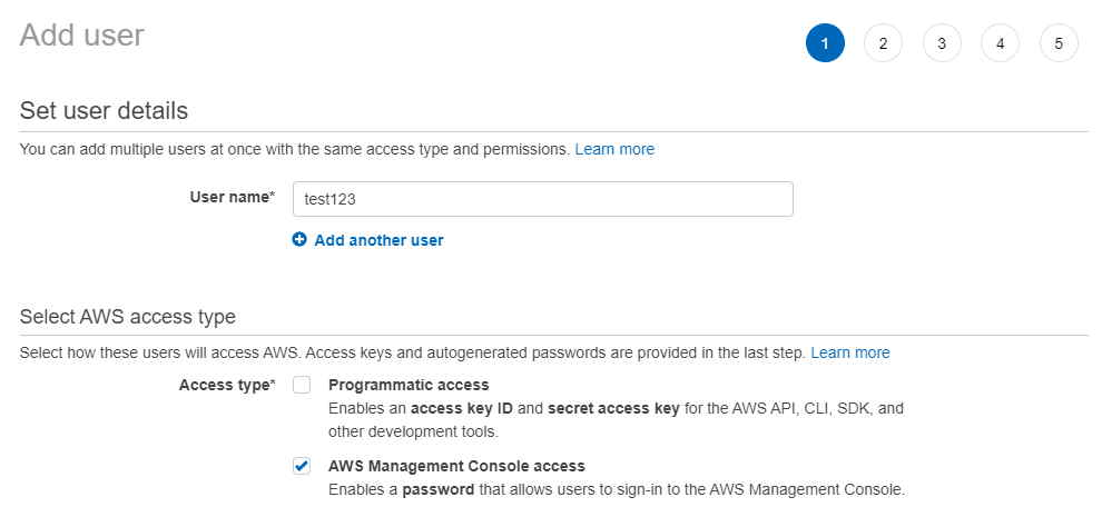 Using 3 Easy Steps - How to Create an IAM User and Attach Policy in AWS 2
