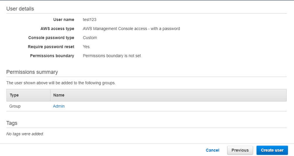 Using 3 Easy Steps - How to Create an IAM User and Attach Policy in AWS 6