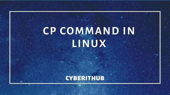 10 Best Examples of cp command in Linux 1