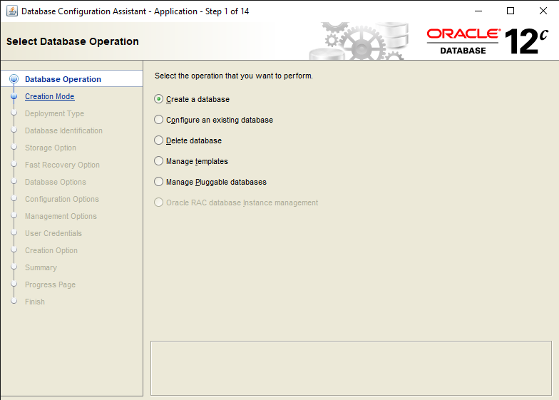 Best Steps to Create a Database in Oracle DB 12c 2