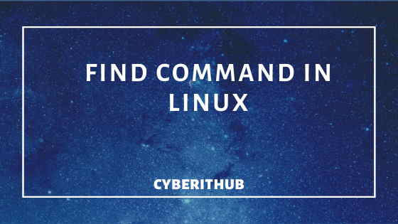 40 Best Examples of Find Command in Linux 1