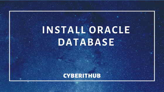 Easy steps to Install Oracle Database 12c in Windows 10 1