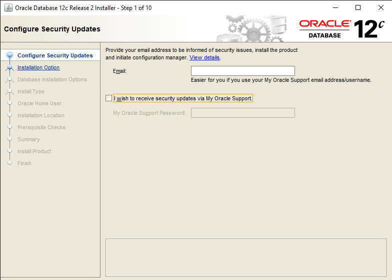 Easy steps to Install Oracle Database 12c in Windows 10 3