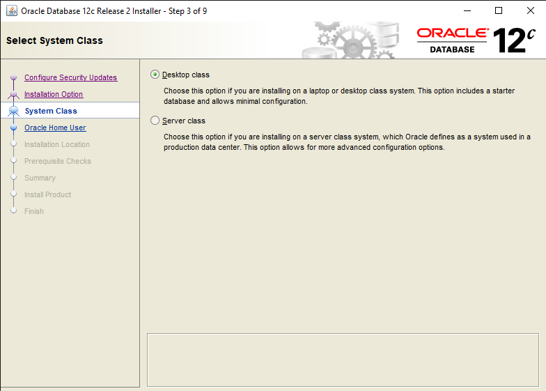 Easy steps to Install Oracle Database 12c in Windows 10 5