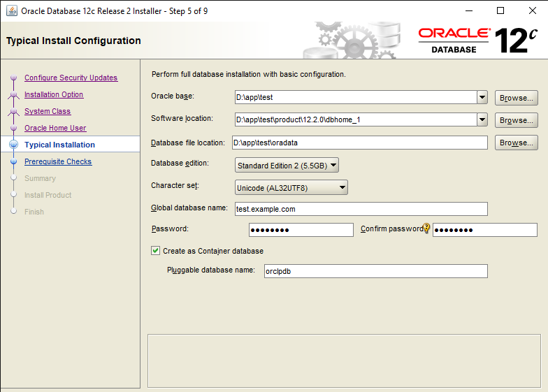 Easy steps to Install Oracle Database 12c in Windows 10 7