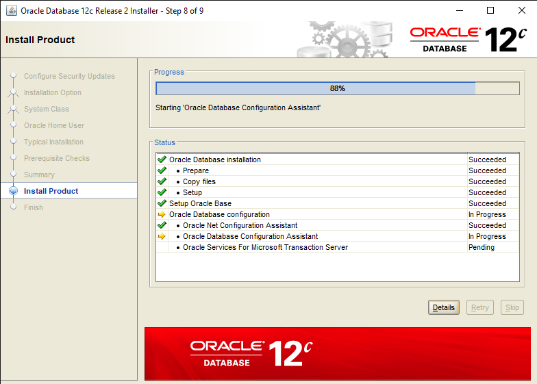 Easy steps to Install Oracle Database 12c in Windows 10 9