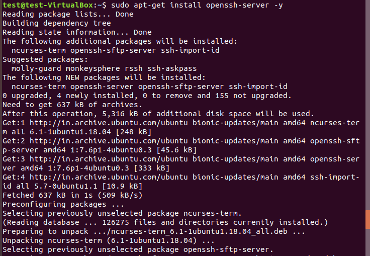 How to Install or Enable ssh on Ubuntu(18.04/17.04/16.04) 3