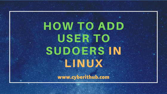 How to Add User to Sudoers on Ubuntu 18.04 Using 6 Best Steps 1