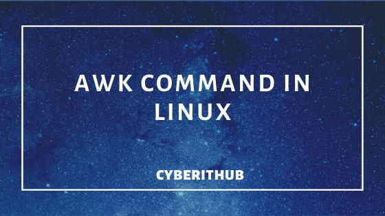 60 Popular Examples of AWK Command in Linux Part - 1 1