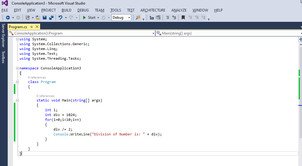6 Useful C# For Loop Examples 12
