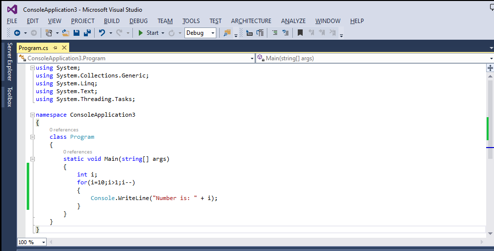 6 Useful C# For Loop Examples 4