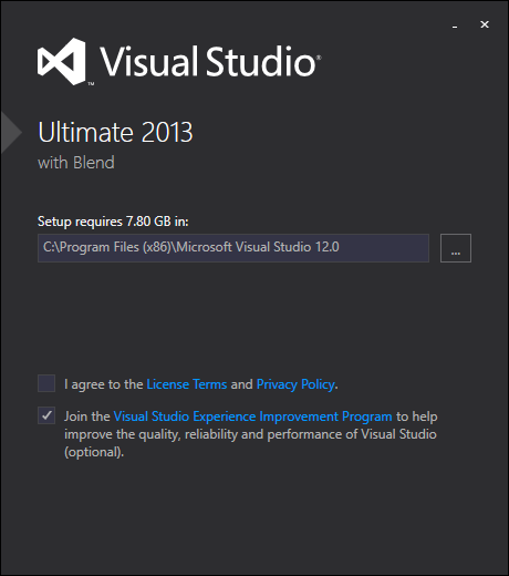 Best Visual Studio 2013 Download and Installation Steps 2