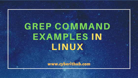31 Useful grep command examples in Linux/Unix(How to Use grep command) 1
