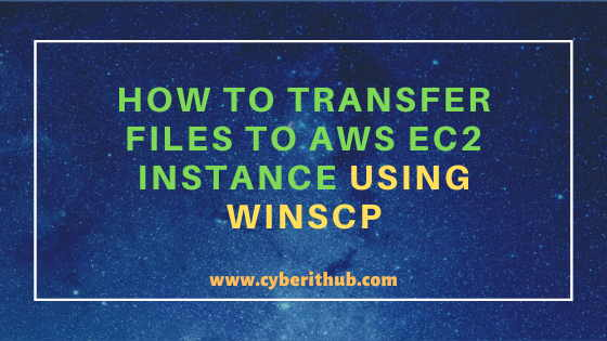 How to Transfer Files to AWS EC2 Instance Using WinSCP in 3 Easy Steps 1