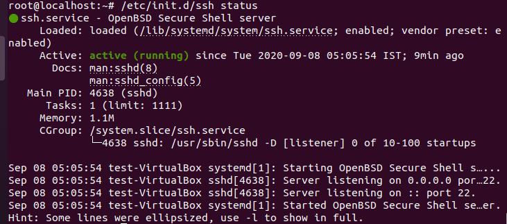 5 Easy Steps to Install Openssh-Server on Ubuntu 20.04 to Enable SSH 4