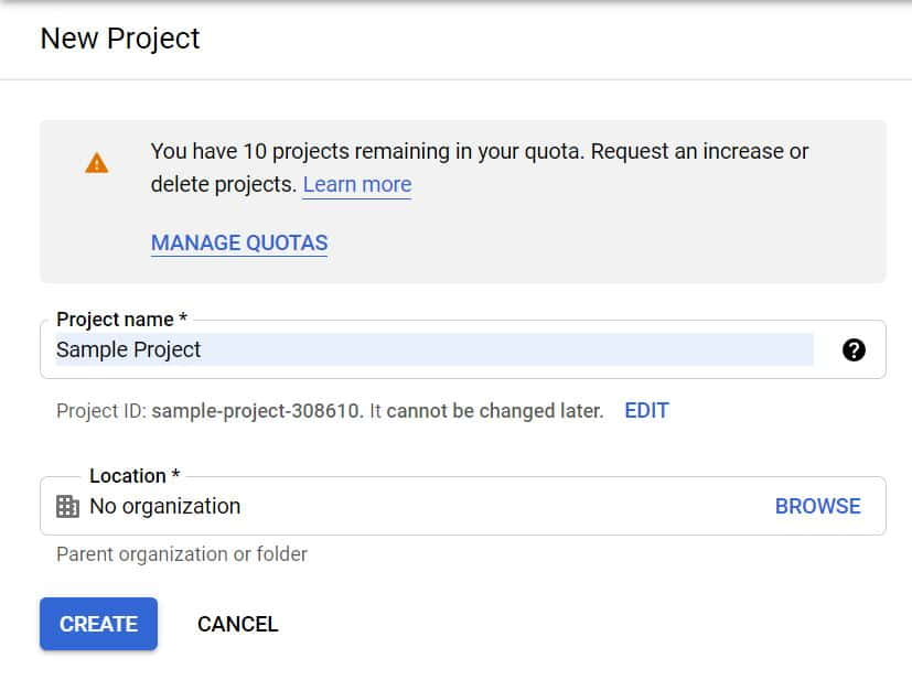 How to Create a Project in Google Cloud(GCP) in 4 Best Steps 4