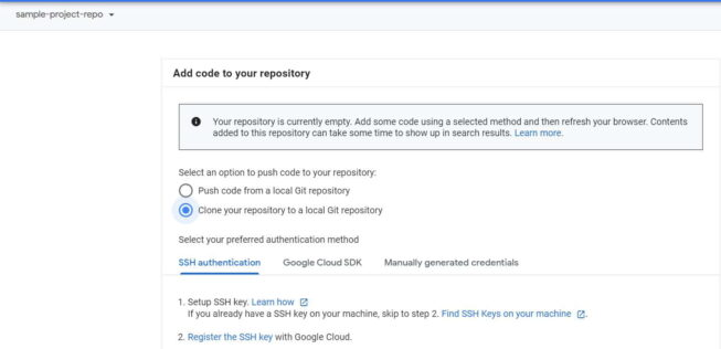 Create a Repository Using Google Source Repositories(GSR) in 5 Simple Steps 7