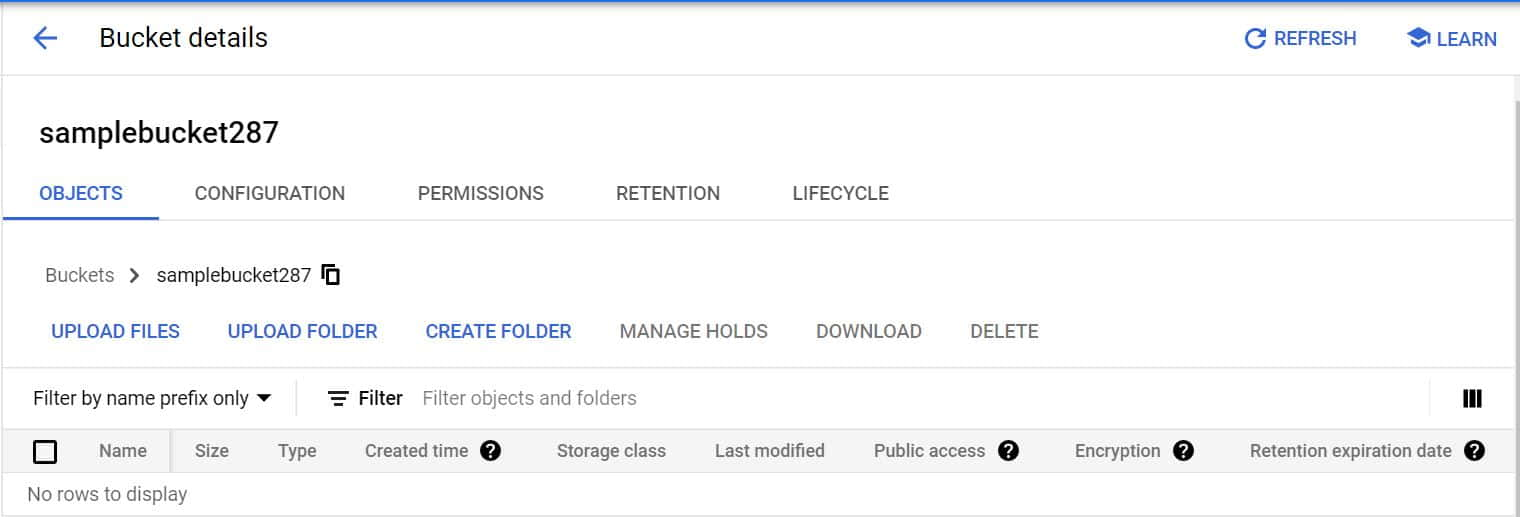 Step by Step Guide to Create a Bucket in Google Cloud Storage 8