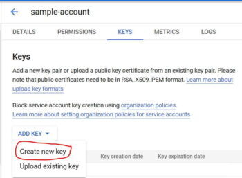 How to Add a Service Accounts Key in Google Cloud in 7 Easy Steps 9