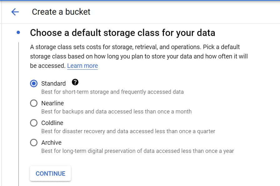 Step by Step Guide to Create a Bucket in Google Cloud Storage 5