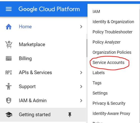 How to Add a Service Accounts Key in Google Cloud in 7 Easy Steps 2