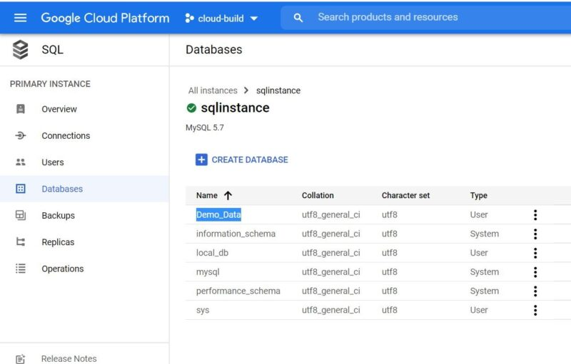 Step by Step Guide to Create a MySQL Database in Google Cloud SQL 6