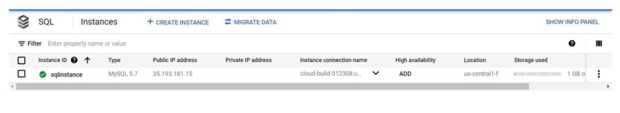 Step by Step Guide to Create a MySQL Database in Google Cloud SQL 3