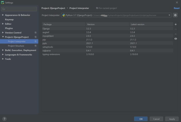 Step by Step Guide to Install and Setup Django Project in PyCharm 3