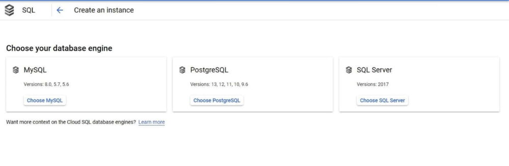 Step by Step Guide to Create a MySQL Database in Google Cloud SQL 2