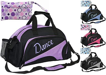 Large sports carryalls with pouches