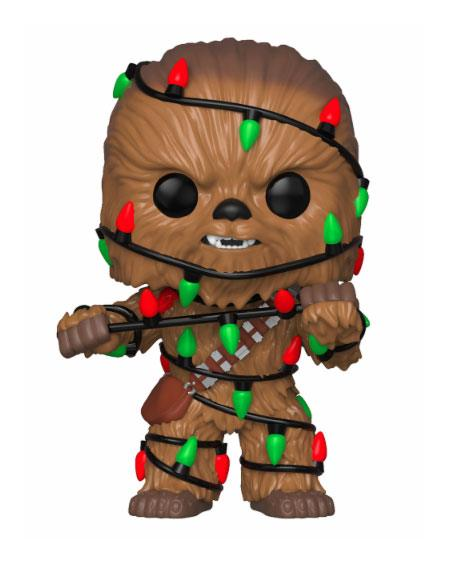 Funko POP Bobble Head Holiday Chewbacca with Lights