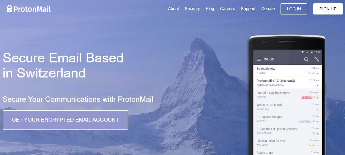 Proton-Email