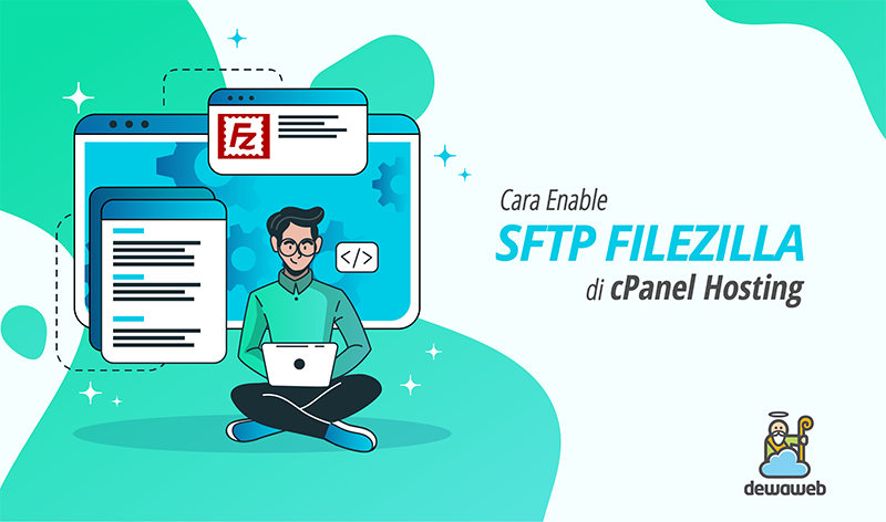 Cara Enable sFTP FileZilla di cPanel Hosting featured image