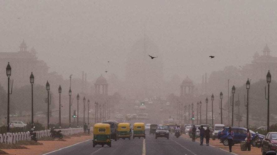 Delhi's air quality 'poor' pollution might increase over next three days Authorities