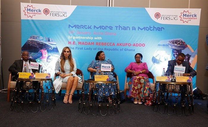 Merck Foundation Launched Their Programs in Partnership With Ghana's First Lady and Ministry of Health