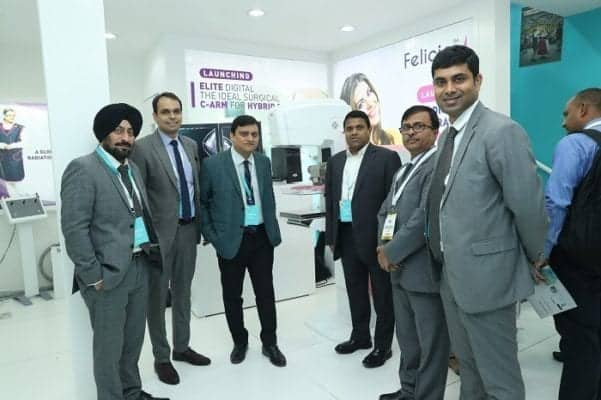 Trivitron Healthcare launches its state-of-the-art Elite - Flat Panel Digital C-arm and Felicia – Digital Mammography System at Arab Health 2019, Dubai