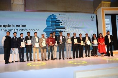 The brands which were felicitated as India's Most Preferred Smart City Brands 2018