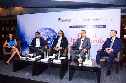 US Freedom Capital and Phillip Capital Organized a Panel Discussion on Global Investments: Diversification andThe Dollar