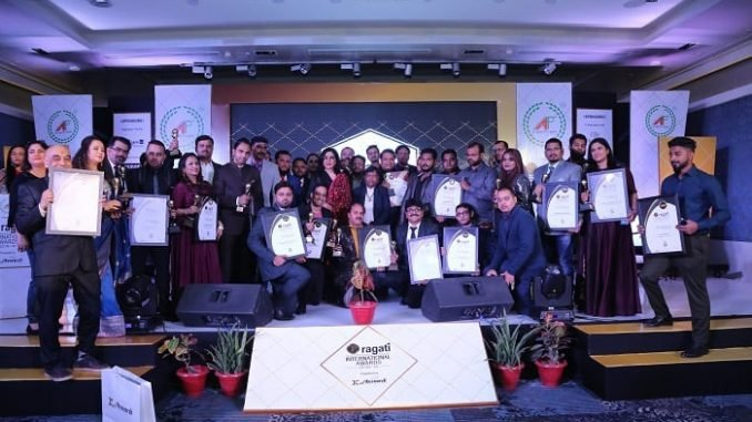 Zeenat Aman Gives Away Pragati (International Service Excellence Awards & Summit) to the Best Service Providers Organisations and Professionals