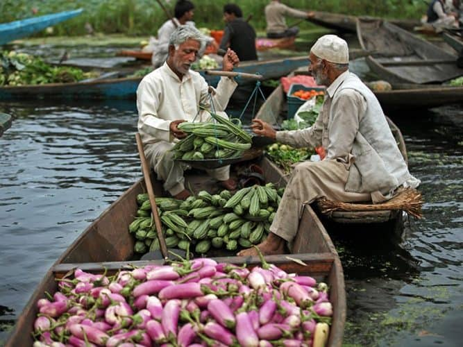 Amid chaos and uncertainty, vendors in Srinagar offer discount on vegetables, fruits to clear stock