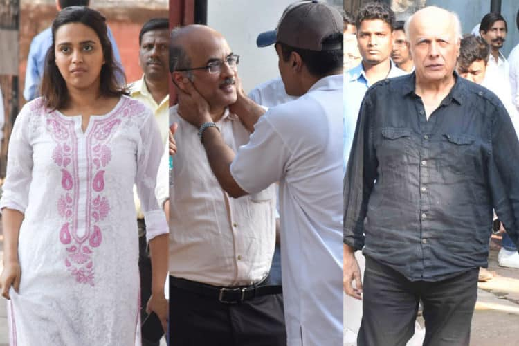 Film Producer Raj Kumar Barjatya Passes Away; Bollywood Attends Funeral And Mourns The Loss