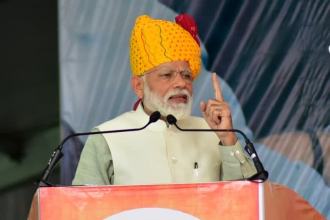 """Prime Minister Narendra Modi Assures """"India Is In Safe Hands"""" After Launch Of Airstrikes On Terror Camps In Pakistan"""