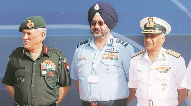 The Indian Army, Indian Navy and Indian Air Force to hold a joint press conference at 5 pm today